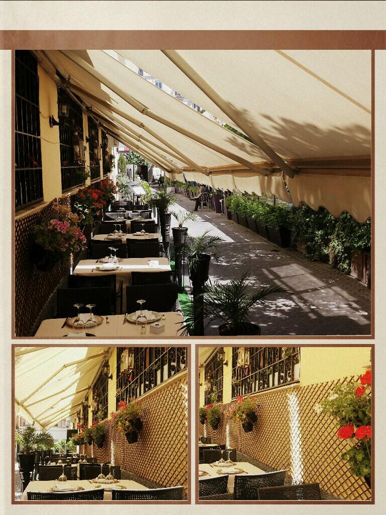 Terraza En La Giralda De Claudio Coello Restaurantes La